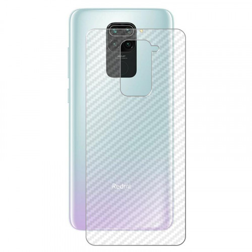 Redmi Note 9 Pro and Note 9s Carbon Fiber Transparent Film Mobile Phone Protection Sticker